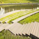 Терраса в парке Олимпийской деревни 12
